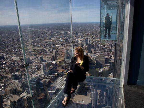 Willis Tower Skydeck Chicago Usa Xenia Nova