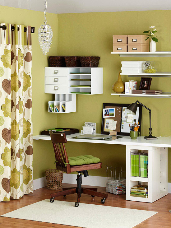 Office And Storage Space. In A Small Space, Take Office Storage And ...