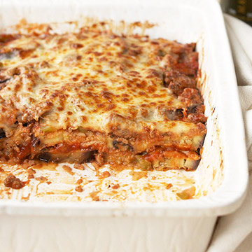 Eggplant and Beef Casserole Recipe