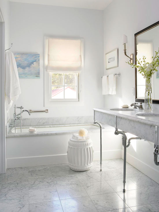 Simply elegant bathroom xenia nova for Simply bathrooms