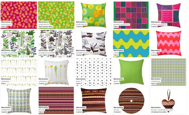 Marimekko fabrics 1