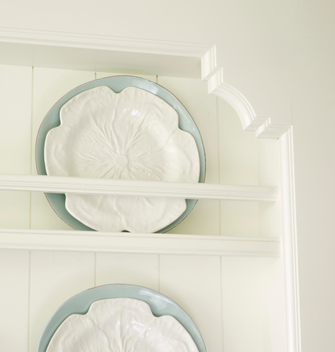 floor to ceiling plate rack