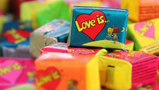 love is gum
