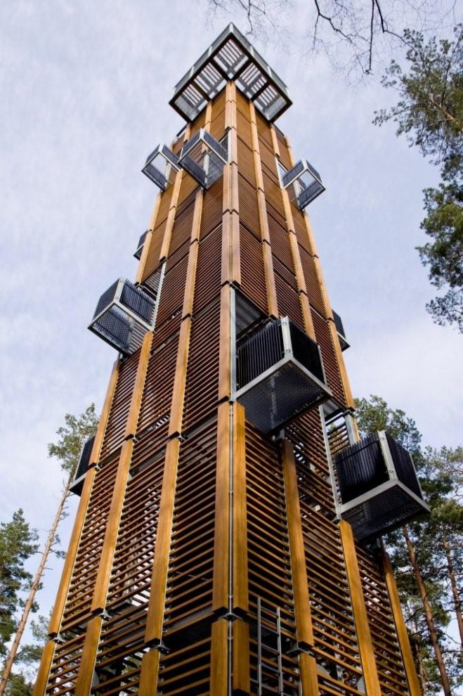 Architecture observation tower in jurmala latvia xenia for Observation tower house plans