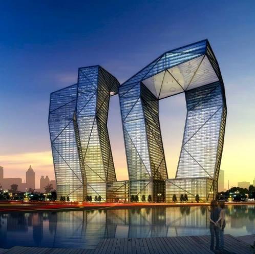 Architecture Naga Towers In India Xenia Nova
